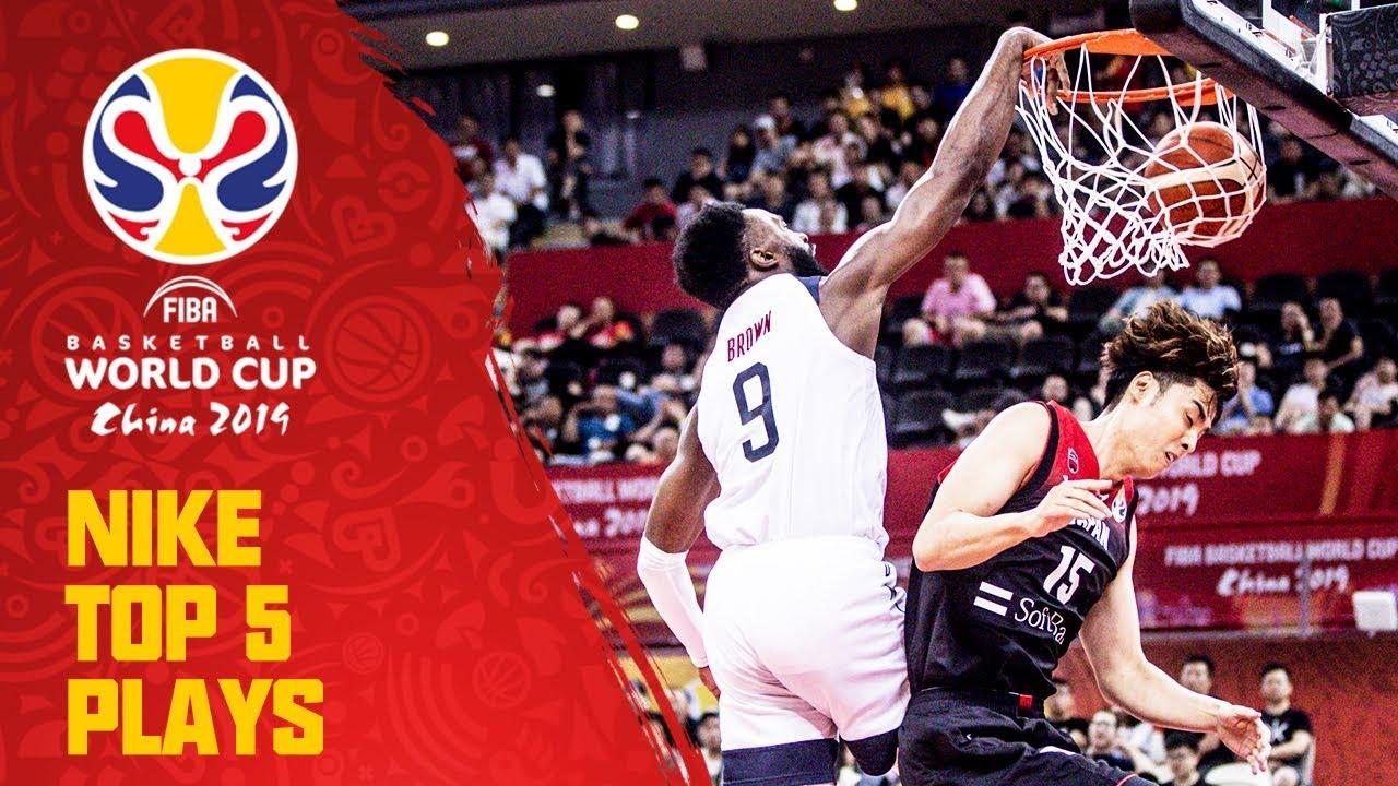 Nike Top 5 Plays | Day 6 | ft. Antetokounmpo, Brown & More! | FIBA Basketball World Cup 2019