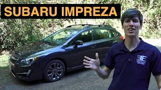 2015 Subaru Impreza Sport - Review & Test Drive