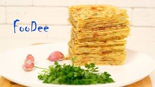 Хычины ☆ Обалденные лепешки на кефире с сыром и картошкой