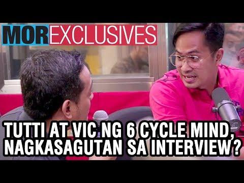#MORexclusives: Tutti at Vic ng 6 Cycle Mind, nagkasagutan sa interview?!