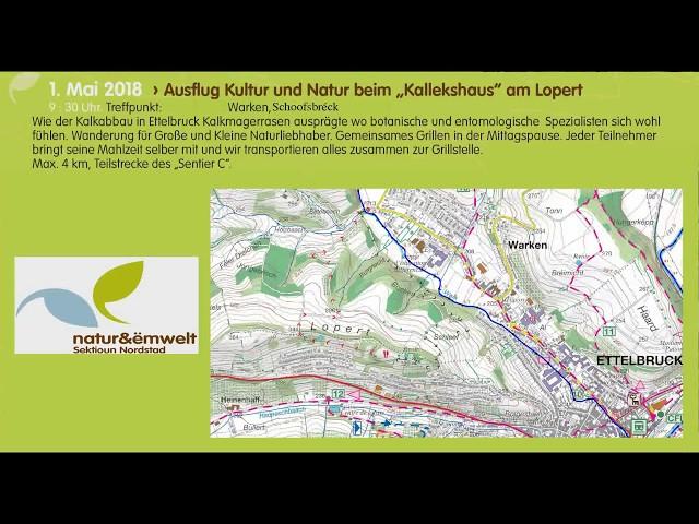 """Ausfluch Kultur an Natur beim """"Kallekhaus"""" am Lopert"""