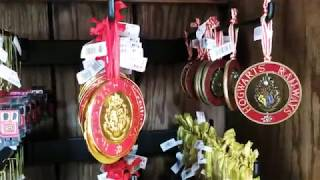 HskyArt New Harry Potter Christmas stuff !!! Universal Studios Hollywood HSKY 2018