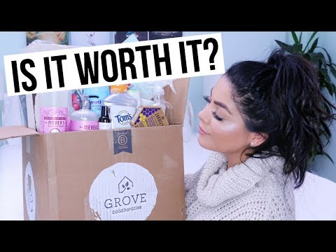 GROVE COLLABORATIVE IS IT WORTH IT? REVIEW NATURAL HEALTHY PRODUCTS HAUL | SCCASTANEDA