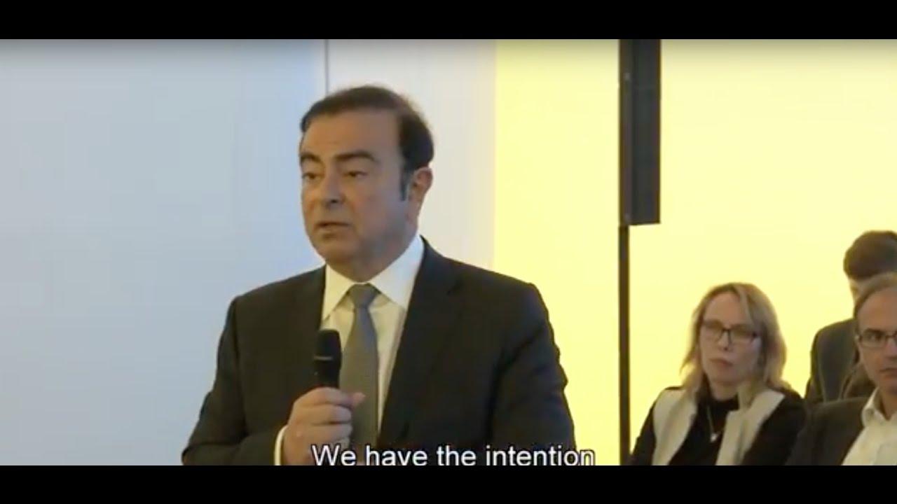 Carlos Ghosn at Geneva Motor Show 2017