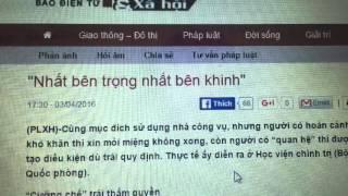 PV Quang Khởi bị đe dọa