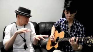 Anointed-S (Beatbox) and Victor C. Song (Acoustic Guitar) hip hop mash up
