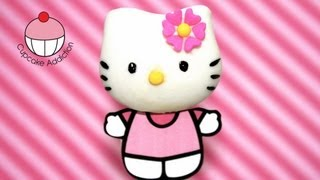 Hello Kitty Cakepops! Make Hello Kitty as a Cake pop! A Cupcake Addiction How To Tutorial