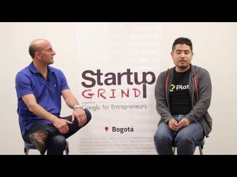 Freddy Vega (Platzi) at Startup Grind Bogota