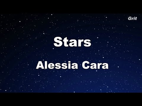 Stars - Alessia Cara Karaoke 【With Guide Melody】Instrumental