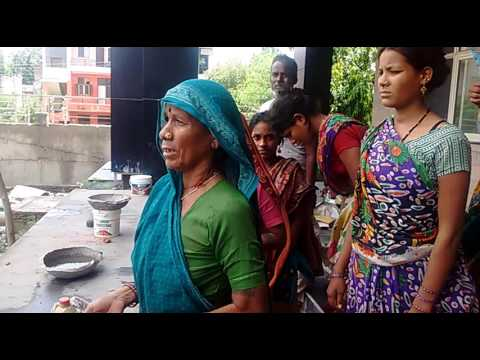 #bonded labourers rescued from Noida authority #construction site.. Nirmal-NCCEBL(3)