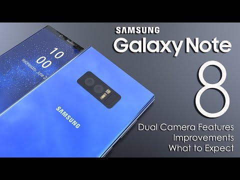 Samsung Galaxy Note 8 Dual Camera Features Leaked ,Improvements,Specifications ,What to expect
