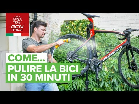Come pulire la bici in 30 minuti | lavaggio accurato della bici da corsa