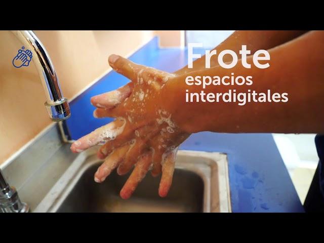 ¿Cómo lavarse las manos para protegerse del coronavirus?