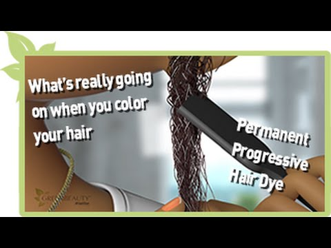 The Science of Permanent Progressive Hair Dye | NATURAL HAIR