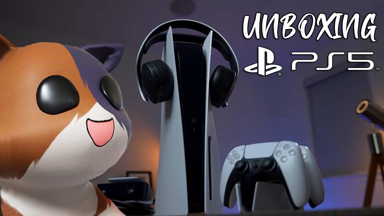 Gatito compró el nuevo PS5 | ¿Vale la pena? Unboxing 🎮 PS4 vs PS5