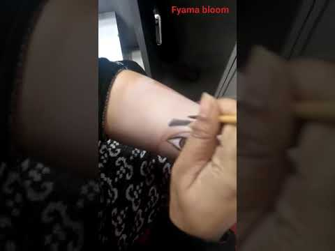 Hand Makeup Art by : Fyama Beauty Parlor and Laser