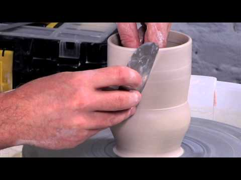 Pottery Video: Paying