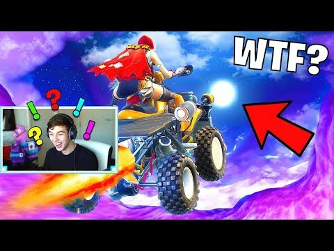 GOING TO THE MOON in Fortnite..