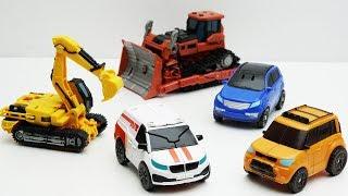 Tobot Robot Stopmotion mini car! Civil War Transformers Decepticon Scrapmetal, Rampage, Ultra Magnus