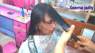How to cut very Light Hair/Front layers & Back MULTI steps/рдмрд╣реБрдд рд╣реА рдкрддрд▓реЗ рдмрд╛рд▓реЛрдВ рдореЗ рд╕реНрдЯреЗрдк рдХрдЯрд┐рдВрдЧ рдХрд░реЗрдВ/SJ
