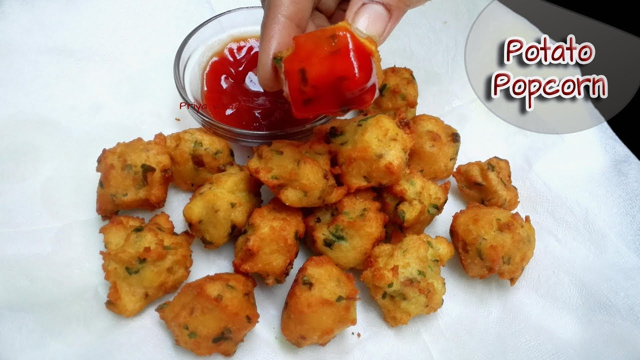 Potato Popcorn || Indian style Aloo Popcorn || Simple & quick Snack