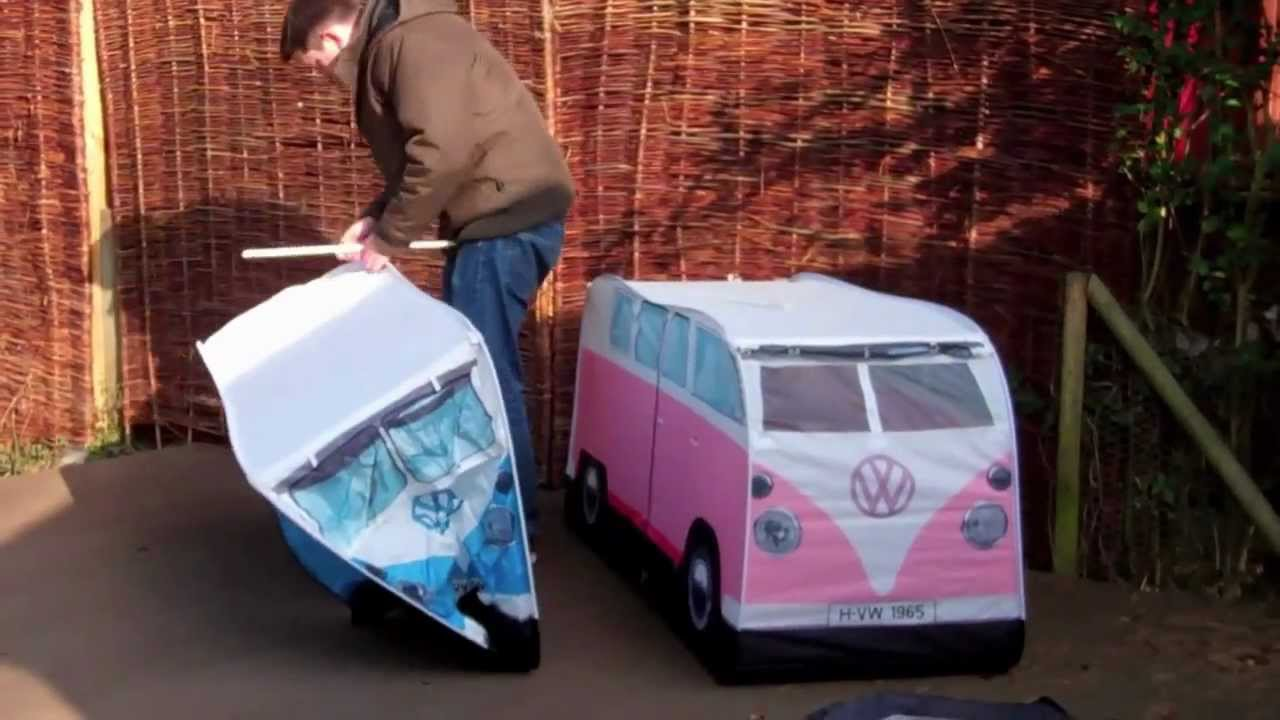YouTube & Kids VW Kids tent Set Up.mov