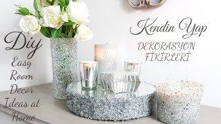 DIY | Dekorasyon Fikirleri | Easy Room Decor 🖌 ❄️💫