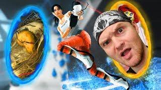 видео: СИНИЙ ПОПРЫГЕЛЬ  Portal 2  4 