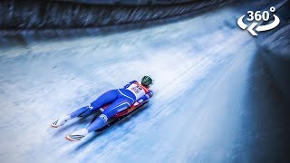 Plunging Down an Ice Track at 80mph