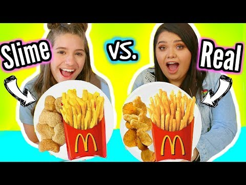 Download Youtube: Making FOOD Out Of SLIME! Slime VS Food With Mackenzie Ziegler