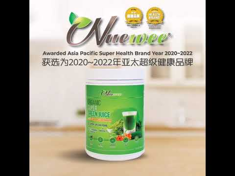 Nuewee Awarded as Asia Pacific Super Health Brand