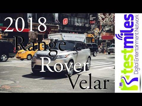 Why are we so excited for this? || 2018 Land Rover Range Rover Velar