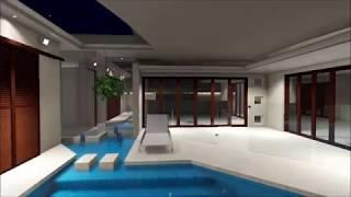 Contemporary Landscaping - Concept Design/ 3D Fly through - Noosa Heads 2