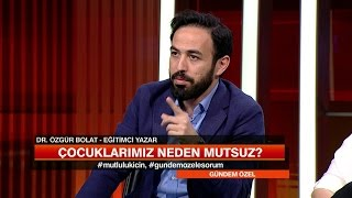 Özgür Bolat ailelerin yaptığı yanlışı açıkladı