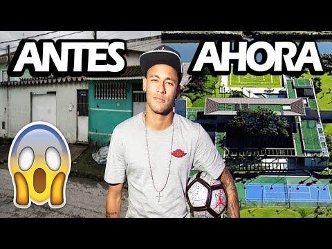 Top 10 Casas De Futbolistas, Antes y Después | Ft Neymar, Messi, Zlatan, Ronaldo..