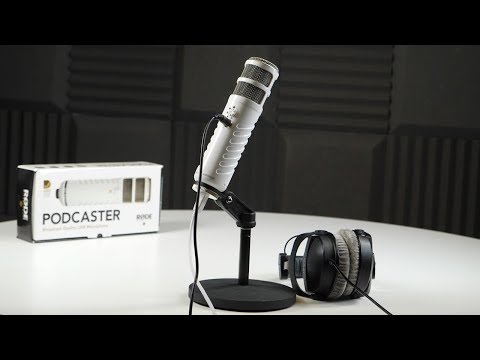 Perfect Microphone for Radio? Rode Podcaster Review