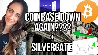 BITCOIN TECHNICAL ANALYSIS - SILVERGATE - COINBASE DOWN - FED NEEDS TO CHANGE -