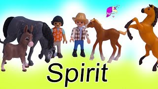 Spirit Riding Free Surprise Blind Bag Horses ! Full Box Of Horse Toys