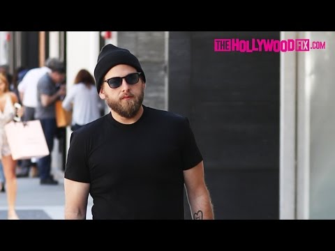 Jonah Hill Looks Slimmed Down While Shopping At Prada On Rodeo Drive In Beverly Hills 4.14.17