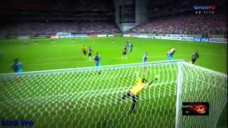 ميسي ورونالدينيو ضد كريستيانو رونالدو وزيدان ● افضل 10 اهداف ● أساطير الكلاسيكو HD