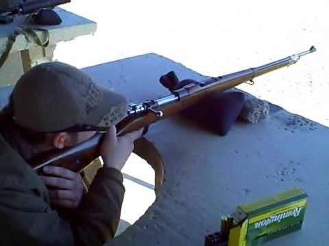 Brazilian 1908 Mauser 7X57mm At 100 Yards