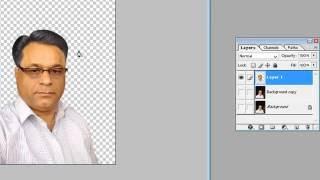 Learn Photoshop in Hindi - 13 - photo cutout - Pen tool use
