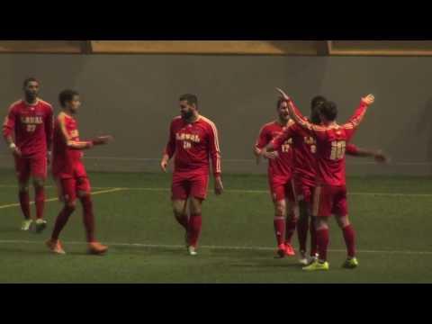 Soccer universitaire / Résumé Rouge et Or Université Laval - Sherbrooke 22 janvier 2017
