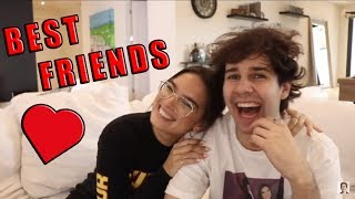 DAVID AND NATALIE BEING BEST FRIENDS FOR 9 MINUTES
