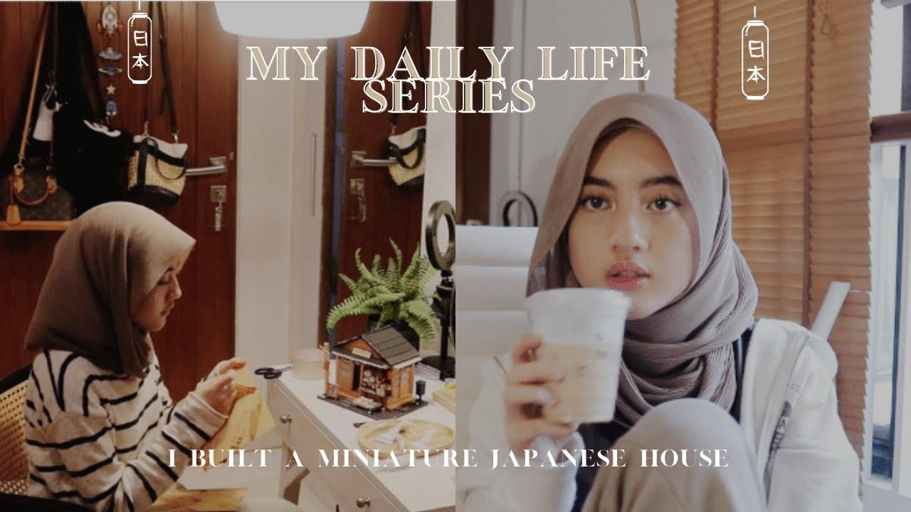 [cc]My Daily Life Series ● I Built a Miniature Japanese House | Rafa Dhafina