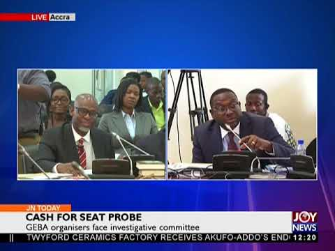 Cash For Seat Probe - Joy News Today (15-1-18)