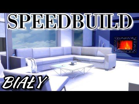 """TS4 Speedbuild Jeden Kolor #19 """"Biały"""" +MODY/CC"""
