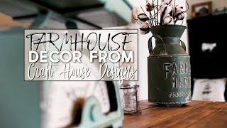 Fresh Farmhouse Decor | Craft House Designs |