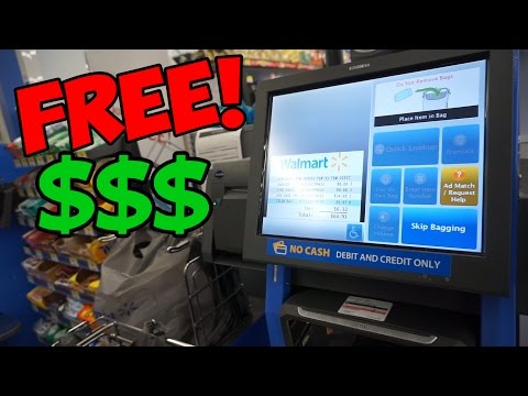 HOW TO GET FREE ITEMS FROM WALMART!