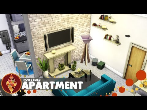 APARTMENT - The Sims 4 - House Build   HD thumbnail